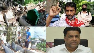 Khabristaan Per Gunda Gardi   CPI Party Worker Shamsuddin Ne Kya Keh diya Waqf Boad Chairmen Ko  