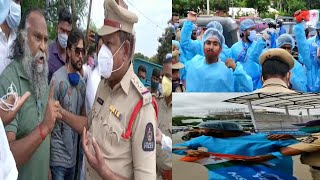 Congress Leaders Aur Hyderabad Police | NSUI Workers | @Sach News