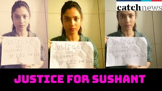 Ankita Lokhande demands justice for Sushant Singh Rajput | Catch News