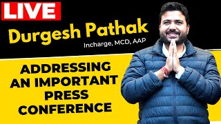 ???? LIVE | Senior AAP Leader Durgesh Pathak addressing on Bhalswa Landfill Collapse