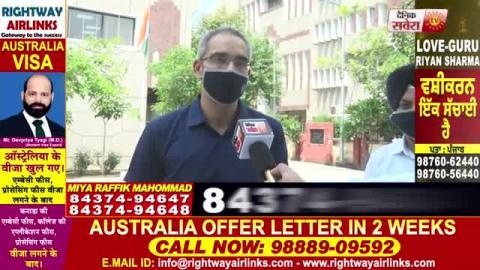 Exclusive: Phagwara में IRS Dr. Girish Bali ने फहराया तिरंगा, Corona Warriors को बांटे 1100 mask