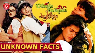UNKNOWN FACTS On Shah Rukh Khan & Kajol's Dilwale Dulhania Le Jayenge