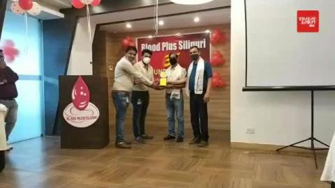 3rd Foundation day of BLOOD PLUS SILIGURI