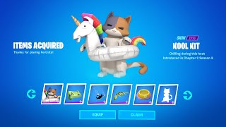 Fortnite Boss Kit Catty Corner Secret Reward Today