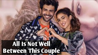 All Is Not Well Between Kartik Aaryan And Sara Ali Khan