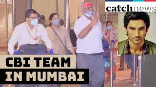 CBI Team In Mumbai For Probe In Sushant's Death Case | Catch News