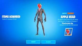 Fortnite Apple Head Secret Reward