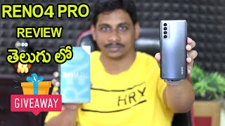 OPPO Reno4 Pro 3D Curved Screen Review Telugu