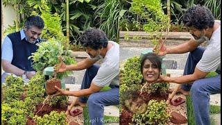 மீராவை வச்சி செஞ்ச விஜய் Fans   Vijay tree plantation Meera Memes