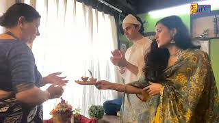 Gautam Rode & Pankhuri Awasthi Ganpati Aarti - Ganesh Chaturthi 2020