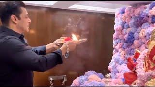 Salman Khan Ganpati Pooja 2020 - Ganpati Bappa Morya