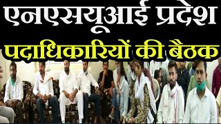Jaipur Hindi News   NSUI  प्रदेश पदाधिकारियों की बैठक, योग्यशाला अभियान की दी गई जिम्मेदारी