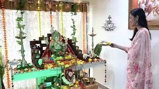 Kahat Hanuman Jai Shri Ram: Parvati Aka Vidisha Srivastava - Ganesh Chaturthi Celebrations - &Tv