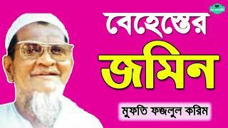 বেহেস্তের জমিনে আশ্চর্যজনক ঘটনা গুলো মন দিয়ে শুনুন | Mufti Fojlul Hoque karim Bangla Waz | Islamicbd