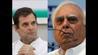 Rahul Gandhi accuses dissidents of 'colluding with BJP', Kapil Sibal denies charge