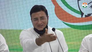 LIVE: Congress Working Committee Briefing by KC Venugopal and Randeep Singh Surjewala at AICC HQ