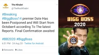 Bigg Boss 14 Premier Postpond - Watch Full Video To Know
