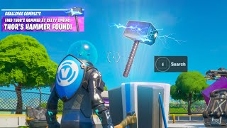 Fortnite Live Event Thor Hammer Reward