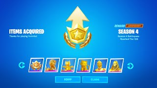 Fortnite All Boss Rewards in One Game