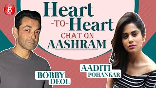 Bobby Deol & Aaditi Pohankar's Heart-To-Heart Chat On Aashram | Prakash Jha | Class Of 83