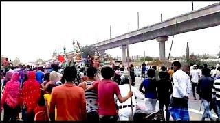 कोरोना गाइडलाइन का उल्लंघन कर दिल्ली में निकाला मोहर्रम का जुलूस