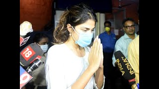 Sushant Singh Rajput death Case: CBI questions Rhea Chakraborty for third consecutive day