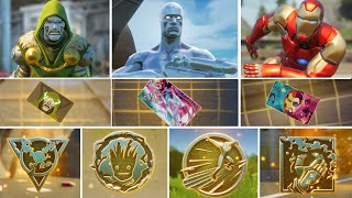 Fortnite All New Bosses, Vault Locations & Mythic Weapons, KeyCard in Season 4