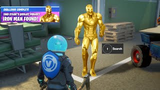 Fortnite Iron Man Tony Stark Robots Quinjet Patrol Reward