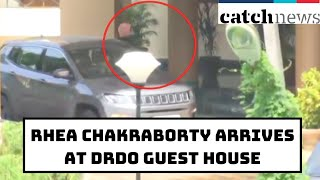 SSR Death Case: Rhea Chakraborty Arrives At DRDO Guest House For Fourth Consecutive Day