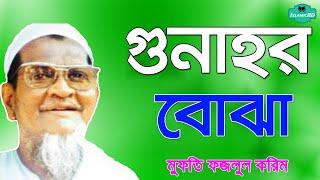 Bangla Waz | আর কত কত গুনাহ করবেন?? মুফতি ফজলুল করিম বাংলা ওয়াজ । islamic bd