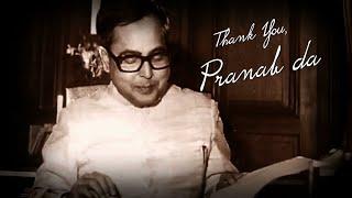 Thank you Pranab da