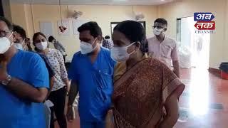 રાજકોટ :જયંતિ રવિ અચાનક સિવિલ હોસ્પિટલ પહોંચ્યા  | ABTAK MEDIA