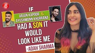 Adah Sharma: If Arjun Kapoor & Ayushmann Khurrana Had A Son, It Would Look Like Me | Vidyut Jammwal