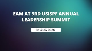 EAM at 3rd USISPF Annual Leadership Summit