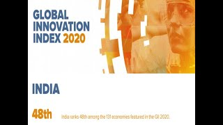 Global Innovation Index 2020: India jumps 4 places, ranks among top 50 countries for first time ever