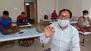 कोरबा - कोविड-19 हॉस्पिटल में भर्ती मरीज के खाने में मिला कीड़ा, VIDEO VIRAL.