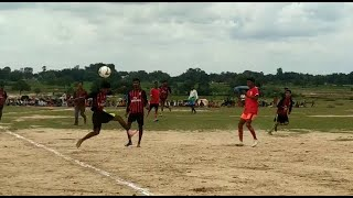 जमुआ - नॉक आउट सद्भावना फुटबॉल प्रतियोगिता का हुआ आयोजन