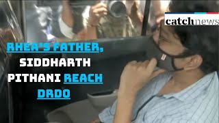 SSR Death Case: Rhea's father, Siddharth Pithani Reach DRDO Guest House For CBI Inquiry