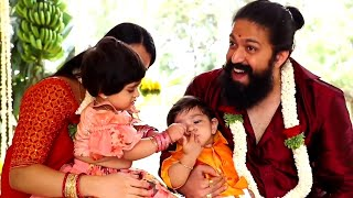 Yash son naming ceremony full video | YATHARV YASH | Ayra | Radhika Pandit