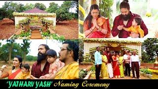 Yash Son's YATHARV Naming Ceremony Full Video | Ayra, Radhika Pandit
