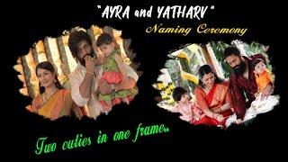 Ayra and Yatharv Naming Ceremony Edited Cute Video || Ayra || Yash || Radhika Pandit