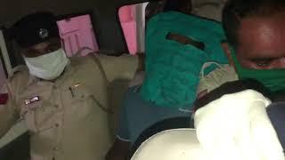 Prime Accused Mustafa Shaikh in Swapnil Walke case being taken for medical checkup