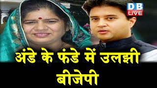 Jyotiraditya Scindia की सिपाही ने बढ़ाई BJP की मुश्किल | अंडे के फंडे में उलझी BJP |#DBLIVE