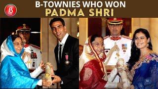 Akshay Kumar To Kajol - Bollywood Stars Who Have Been Awarded With The Prestigious Padma Shri