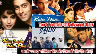 Top 5 Footfalls Of Bollywood Movies Stars That Will Shock You, Salman, Aamir, Hrithik, Ranbir, SRK