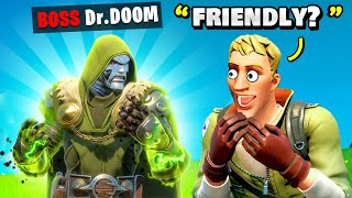 Fortnite Pretending To Be BOSS Doctor Doom