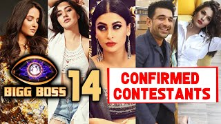 BIGG BOSS 14 Confirmed List Of Contestants | Jasmin Bhasin, Pavitra Punia | BB 14 | Bigg Boss 2020