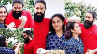 KGF Star Yash celebrated Raksha Bandhan with his Sister