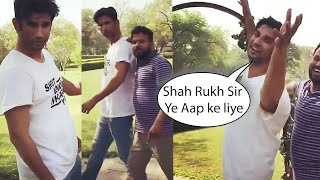 Sushant Singh Rajput Singing Shah Rukh Khan's 'Main Yahaan Hoon' Song From Veer Zaara Movie