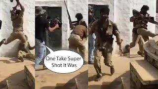 Sushant Singh Sonchiriya Movie Mind-Blowing Action Sequence Shoot behind the scenes